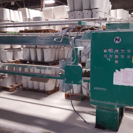 PVPP013 – NETZSCH FILTE PRESS, 630 MM HYDRAULIC CLOSURE. NO PLATES