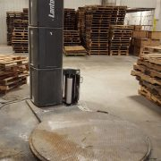PVPP027 – ROTARY PALLET SHRINK WRAPPING MACHINE