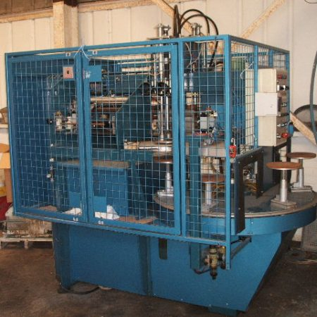 SERVICE ENGINEER Model TT200 flatware pad printing machine. In 'as new' condition.