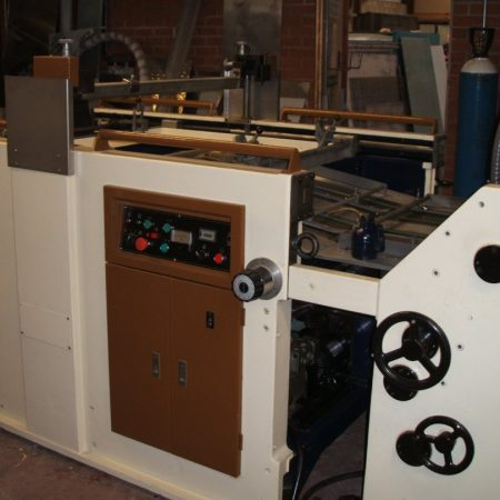SAKURAI Model SC72A decal printing machine complete with Wicket Dryer. Fully refurbished