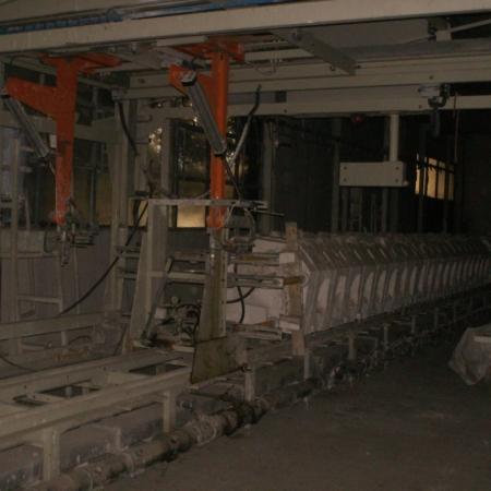 Two Garol battery casting machines 1998