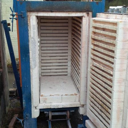K&F 24 cu ft electric truck kiln, one car 2 ft wide x 3ft deep x 4ft high