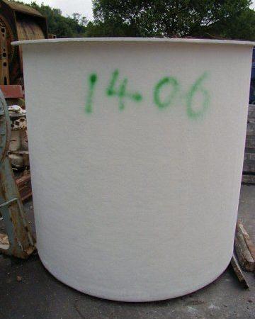 Fibre glass 5' x 5' Tank only