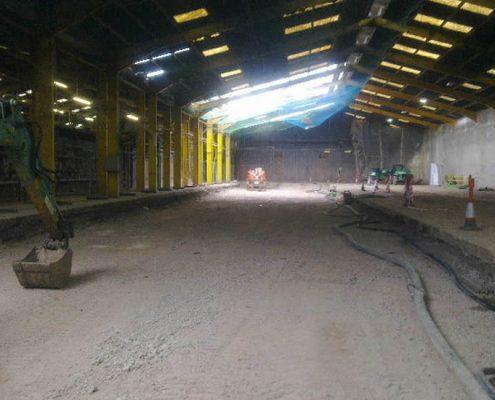 DEMOLITION - Complete demolition of 150 M brick tunnel kiln